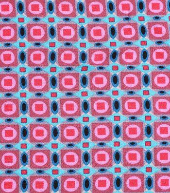 "Silky Crepe Fabric 53""-Multi Geo Blocked"