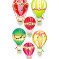 Jolee's Boutique Stickers-Hot Air Balloons