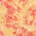 Cotton Fabric -Light Orange Tonal Batik