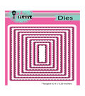 Pink & Main Dies-Stitched Rectangles