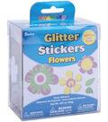 Darice Foam Glitter Stickers-1.05 oz./Flower