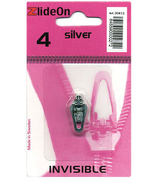 ZlideOn Zipper Pull Replacements Invisible