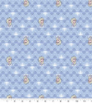 Disney Frozen 2 Cotton Knit Fabric-Elsa & Snowflakes, , hi-res