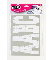 Tulip Express Yourself Soft Flex Distressed Letters Capture-3'', , hi-res