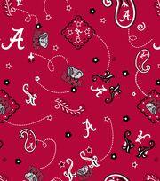 "University of Alabama Crimson Tide Cotton Fabric 43""-Bandana, , hi-res"