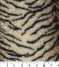 Blizzard Fleece Fabric -Tiger Lined
