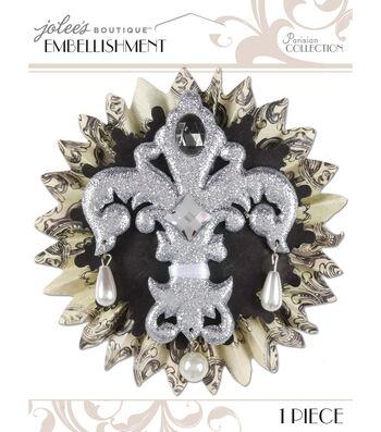 Jolee's Boutique Parisian Fleur De Lis Embellishment