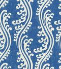 Waverly Multi-Purpose Decor Fabric 56\u0022-Turning Tides/Indigo