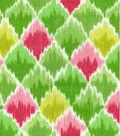 Waverly Print Fabric 54\u0022-Baroque Bargello/Spring