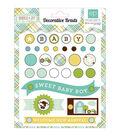 Echo Park Paper Company Bundle Of Joy Baby Boy Decorative Brads