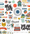 Fancy Pants Ephemera Cardstock Die-Cuts-Family & Co.
