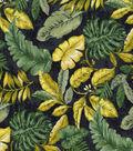 Novelty Cotton Fabric 43\u0027\u0027-Jungle Leaves & Ferns