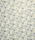 French General Fabric 54\u0022-Bird Rot/Indigo