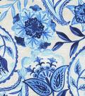 Kelly Ripa Home Upholstery Fabric 54\u0027\u0027-Bluejay Happy Hour