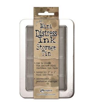 Tim Holtz Mini Distress Ink Storage Tin