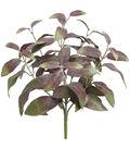 Bloom Room 11\u0027\u0027 Sage Spray-Green & Purple