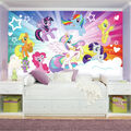 York Wallcoverings Pre Pasted Mural-My Little Pony Cloud