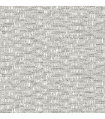 Wallpops NuWallpaper Peel & Stick Wallpaper-Poplin Texture Grey