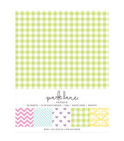 Park Lane 50 pk 8.5''x11'' Value Papers-Printed Pastel, , hi-res
