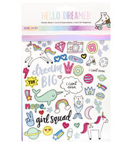 American Crafts Hello Dreamer 206 pk Sticker Book, , hi-res
