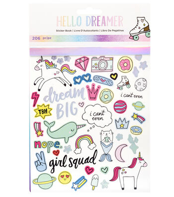American Crafts Hello Dreamer 206 pk Sticker Book