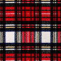 Snuggle Flannel Fabric-Classic Distressed Plaid
