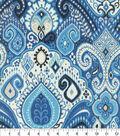 Waverly Sun N Shade Home Decor 8\u0022x8\u0022 Swatch-Boho Passage Lapis
