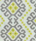 Waverly Multi-Purpose Decor Fabric 55\u0022-Kurta Embroidery/Smoke