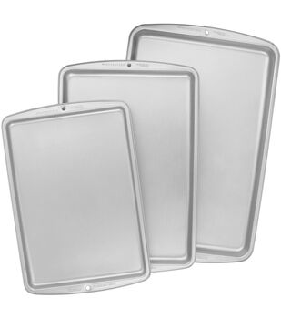 Wilton Recipe Right Cookie Pan Set 3/Pkg