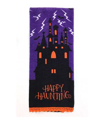 Maker's Halloween 16''x28'' Towel-Happy Haunting