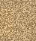 Home Decor 8\u0022x8\u0022 Fabric Swatch-Jaclyn Smith Gill-Golden
