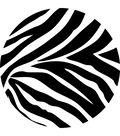 Wall Pops Flirt Pink and Go Wild Zebra Dot Wall Decals, 18 Piece Set