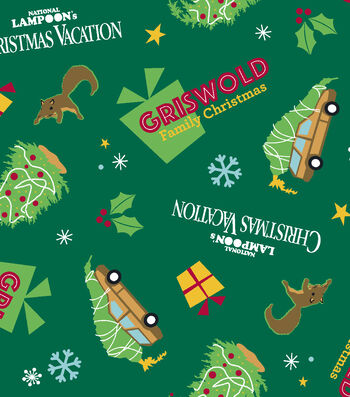 Christmas Cotton Fabric -Griswold Family Christmas