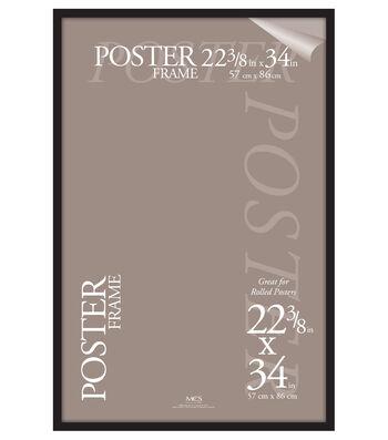 MCS Industries Plastic Gallery Poster Frame 22.38''x34''-Black