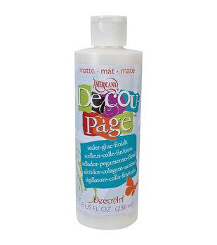 DecoArt Americana Decoupage Glue-8 Oz Matte