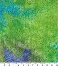 Wide Print Fabric 108\u0027\u0027-Blue & Green Blend Batik
