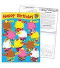 Birthday The Bake Shop Learning Chart 17\u0022x22\u0022 6pk