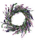 Fresh Picked Spring 22\u0027\u0027 Lavender & Wildflower Wreath