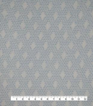 """Fuzzy Sweater Knit Fabric 57""""-Blue Geo"""