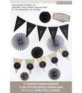 K & Company Chalkboard Pennant Kit