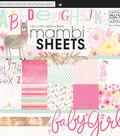 Mambi Single-Sided Paper Pad 12\u0022X12\u0022-She\u0027s So Lovely