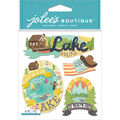 Jolee\u0027s Boutique 4 Pack Dimensional Stickers-Lake