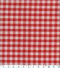 Homespuns Cotton Fabric -Red