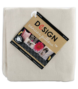 "Canvas Corp Canvas Pillow Square 14"" 1/Pkg-Natural"