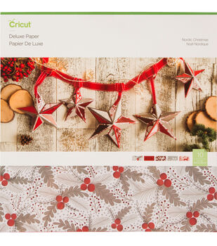 Cricut Deluxe Paper-Nordic Christmas