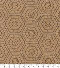Home Decor 8\u0022x8\u0022 Fabric Swatch-Waverly Solstice Emb Porcini