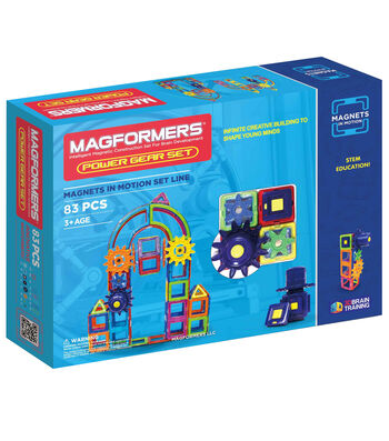 Magnets in Motion 83 Piece Power Set