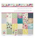 American Crafts Maggie Holmes Pack of 36 12\u0027\u0027x12\u0027\u0027 Paper Pad