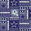 Dallas Cowboys Cotton Fabric 58\u0022-Patch