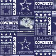 "Dallas Cowboys Cotton Fabric 58""-Patch, , hi-res"